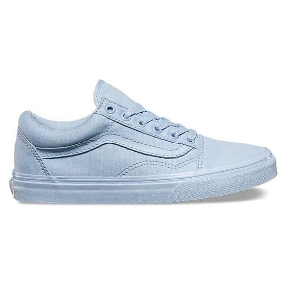 Vans Shoes | Baby Blue Vans | Poshmark